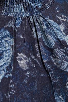 Margrete Blouse - mörkblå
