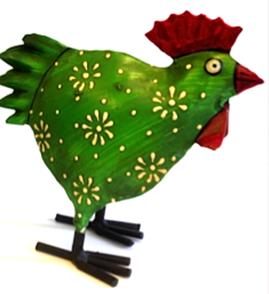 Hugo green chicken
