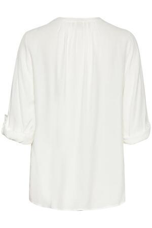 Vera 3/4 sleeve blouse - chalk