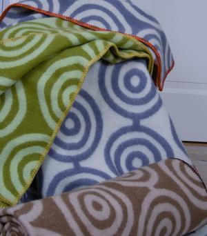 Circles grön/grön 130x180
