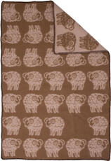 Sheep Brown/Beige 90x130
