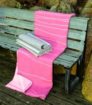 Shorelines rosa/rosa130x180