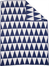 Triangle Blue/white 130x180