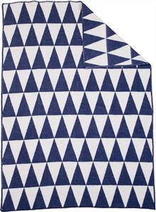 Triangle Blue/white 130x180