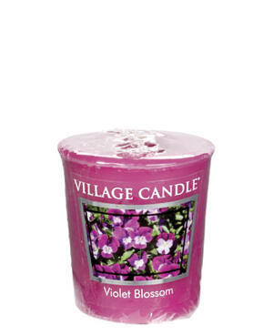 Violet Blossom/Votive