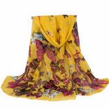 Sommarsjal - fjärilar - gul