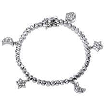 Armband - måne-stjärna-hjärta