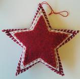 Stjärna tovat hängande