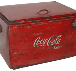 Coca Cola box, original 40-tal