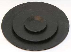 Candlelight plate round 10 diam.